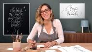 Calligraphie anglaise de A à Z. Un cours de Calligraphie , et Typographie de Bego Viñuela Galarraga