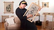 Introducción al bordado en blackwork. Un curso de Craft de Gimena Romero