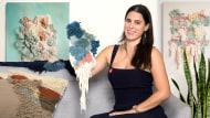 Introduzione al latch hooking e locker hooking. Un corso di Artigianato di Mariana Baertl