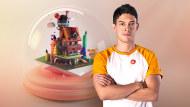 Criação de mundos 3D em miniatura com Procreate e Cinema 4D. Um curso de 3D e Animação de Santiago Moriv