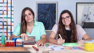 Estampagem de serigrafia têxtil com estêncil. Um curso de Craft e Design de Festela Store