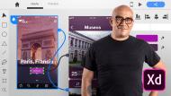 Introduzione ad Adobe XD per applicazioni mobili. Un corso di Design, Web , e App Design di Arturo Servín