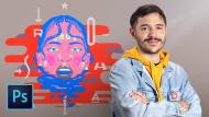 Ilustración digital con texturas en Photoshop. Un curso de Ilustración de Juan Dellacha