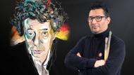 Portrait vectoriel avec textures manuelles. Un cours de Illustration de Alvaro Tapia Hidalgo