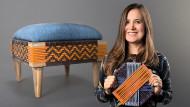 Introduction au tissage avec cordon en PVC. Un cours de Craft de Carolina Ortega