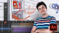 Introducción a Adobe Animate. Un curso de 3D y Animación de Josep Bernaus