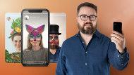 Filtros de realidad aumentada para Instagram y Facebook. Un curso de 3D y Animación de Paul Brown
