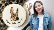 Needle Painting for Beginners. A Craft course by Valentina Castillo