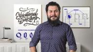 Introduction à la calligraphie Foundational. Un cours de Calligraphie , et Typographie de Leo Calderón