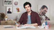 Caderno de retratos em aquarela. Um curso de Ilustração de Carlos Rodríguez Casado