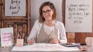 Calligraphie italique au brush pen. Un cours de Calligraphie , et Typographie de Bego Viñuela Galarraga