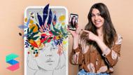 Filtres illustrés pour Facebook et Instagram Stories. Un cours de Illustration de Beatriz Ramo (Naranjalidad)