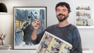 Acquerello e colore per fumetti e illustrazione. Un corso di Illustrazione di Sergio Bleda