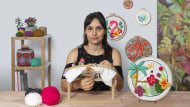 Introduction to 3D Embroidery. A Craft course by Nayla Marc