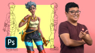 Urban-Style Character Creation. A Illustration course by Felixantos