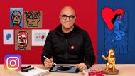 Schöpfung von kreativen Inhalten für Instagram. A Marketing und Business course by Marco Colín