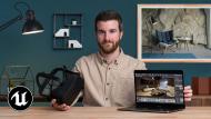 Infoarchitektur für Innenräume mit Unreal Engine 4. A 3-D, Animation, Architektur und Raumgestaltung course by Miguel Albo