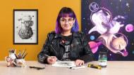 Narrativa visual con grafito para principiantes. Un curso de Ilustración de Siamés Escalante