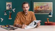 Introduction à l'album illustré. Un cours de Illustration de Ricard López Iglesias