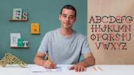 Noble Jungs. A Kalligrafie und Typografie course by Wete