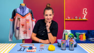 Upcycling: crie uma coleção de moda. Um curso de Design de krizia robustella