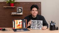 Sketchbook criativo para projetos de ilustração. Um curso de Ilustração de Manuel Vargas