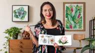 Ilustración botánica con acuarela. Un curso de Ilustración de Paulina Maciel · Canela