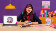 Creación de una marca ilustrada: de la idea al merchandising. Un curso de Diseño e Ilustración de Vania Bachur