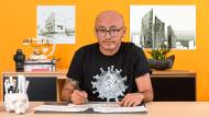 Introducción al dibujo arquitectónico a mano alzada. Un curso de Ilustración de Héctor López