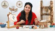 Pintar con hilo: técnicas de ilustración textil. Un curso de Craft de Gimena Romero