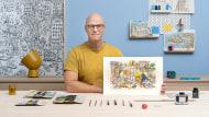 Sketching creativo: riempi le tue illustrazioni di vita e particolari. Un corso di Illustrazione di Mattias Adolfsson
