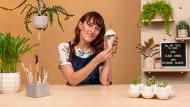 Creación de macetas de cerámica con personalidad. Un curso de Craft de La Pomona