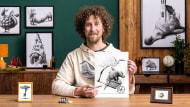 Ilustración surrealista con rotuladores. Un curso de Ilustración de Redmer Hoekstra