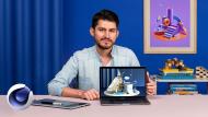 Creazione di composizioni 3D con Cinema 4D. Un corso di 3D , e Animazione di Francisco Cortés