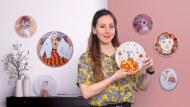 Estampación y bordado de retratos realistas. Un curso de Craft de Yamila Yjilioff