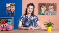 Retratos bordados con aguja mágica. Un curso de Craft de Camille Labarre