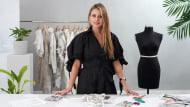 Schöpfung von Kleidern von Grund auf. A Mode course by Natalia Londoño