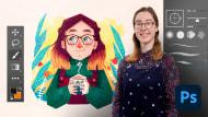 Introducción a Photoshop para ilustradores. Un curso de Ilustración de Gemma Gould