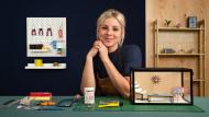Design e construção de interiores em miniatura. Um curso de Craft de Jessica Dance