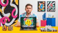 Motion graphics para redes sociales: crea un pack de stickers. Un curso de 3D y Animación de Alex Foxley