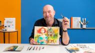 Aquarellsketching: Drück deine Ideen aus . A Illustration course by Felix Scheinberger