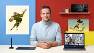 Princípios do desenho: descubra a ilustração digital. Um curso de Ilustração de Jean Fraisse