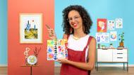 Aquarellfarben: entdecke deinen chromatischen Charakter. A Illustration course by Luiza Normey