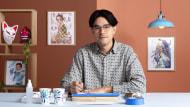 Ilustração expressiva de mangá em aquarela. Um curso de Ilustração de Geoff Pascual