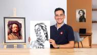 Introdução ao desenho de retrato. Um curso de Ilustração de Alonso Palomino