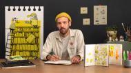 Desenho diário com sketchbook: desenvolva sua visão artística. Um curso de Ilustração de Alfonso De Anda
