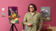 Tecniche di pittura a olio: natura morta su carta. Un corso di Illustrazione di Remi Cárdenas