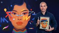 Creative Portrait Illustration with Procreate. A Illustration course by Samuel Rodriguez