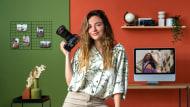 Fotografía de retrato exterior para Instagram. Un curso de Fotografía y Vídeo de Helena Palau Arvizu