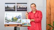 Contemporary Watercolor Landscape Painting. A Illustration course by Ari de Goes Jr